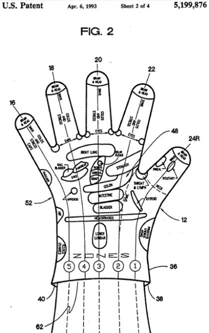 Strange patent... for a 'hand reflexology glove'!??? Hand-reflexology-glove-patent1